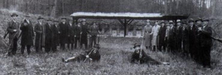 Schießanlage 1936
